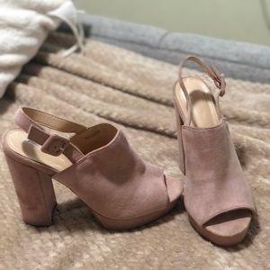 Pink heels 7